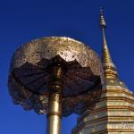 Буддийский храм Ват Дой Сутхеп на горе возле Чианг Мая