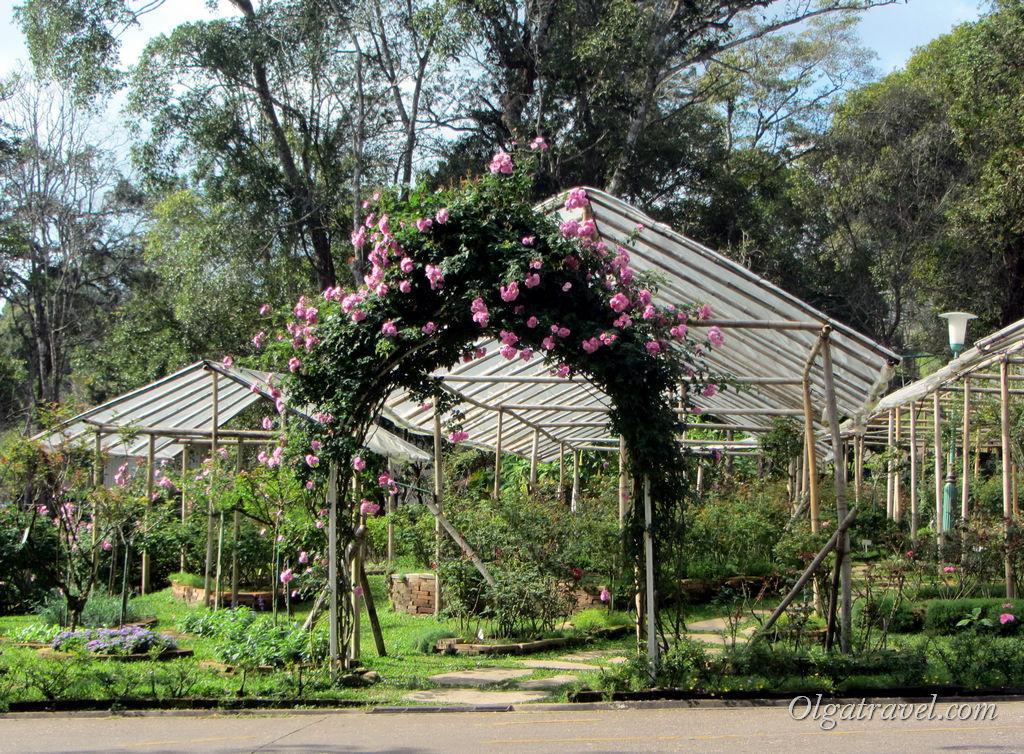 Зимняя резиденция короля Таиланда в Чианг Мае