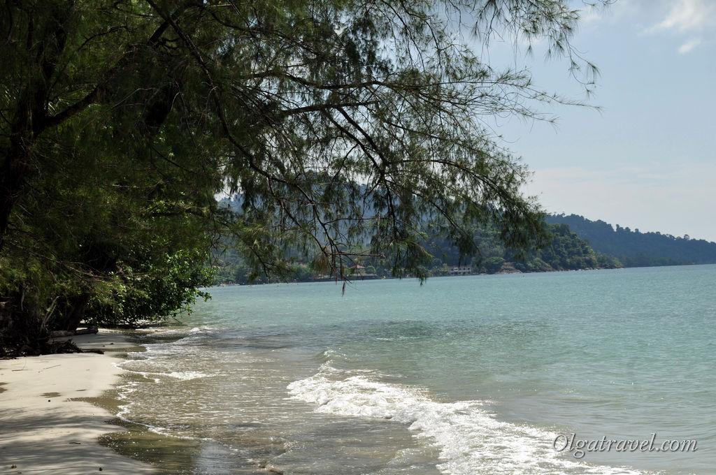Пляж Клонг Прао в прилив
