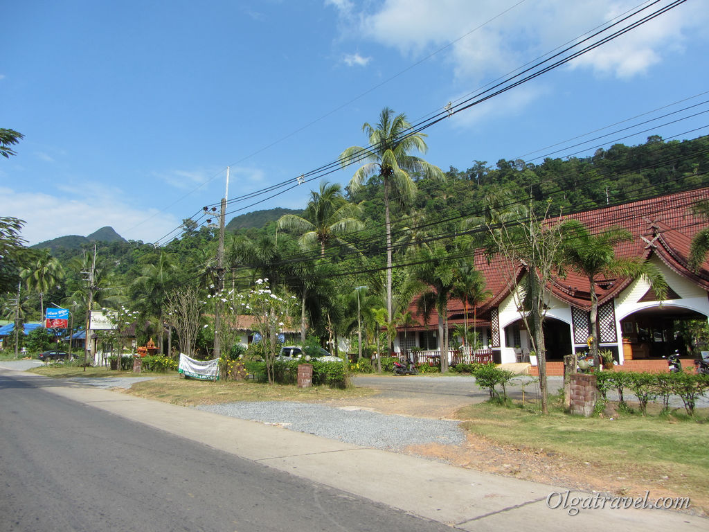 Дорога в районе Клонг Прао