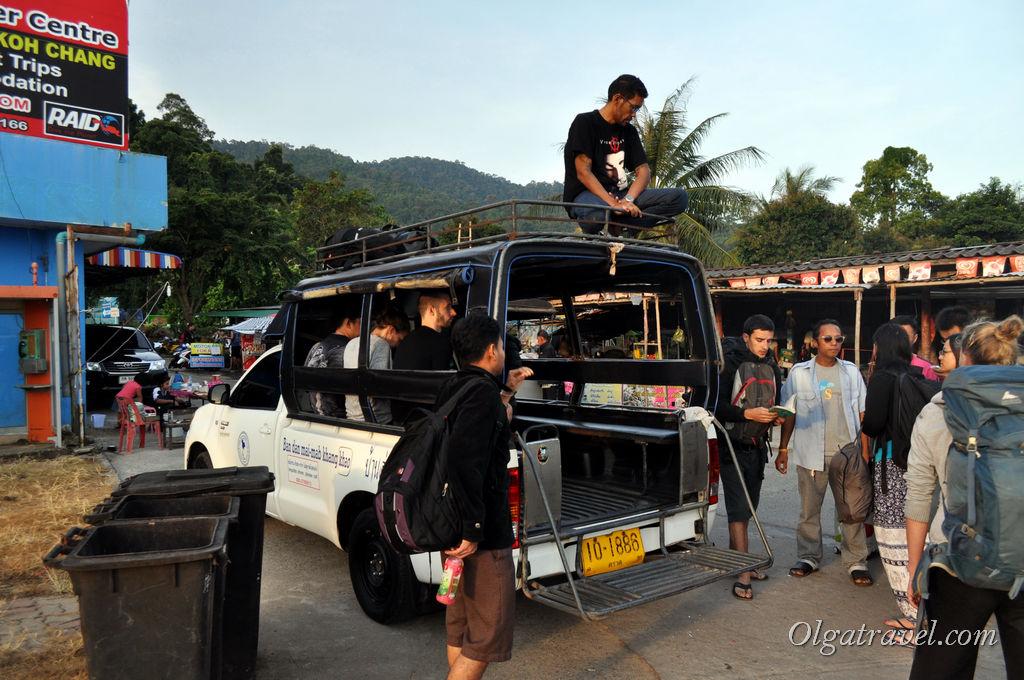 Такси Ко Чанг