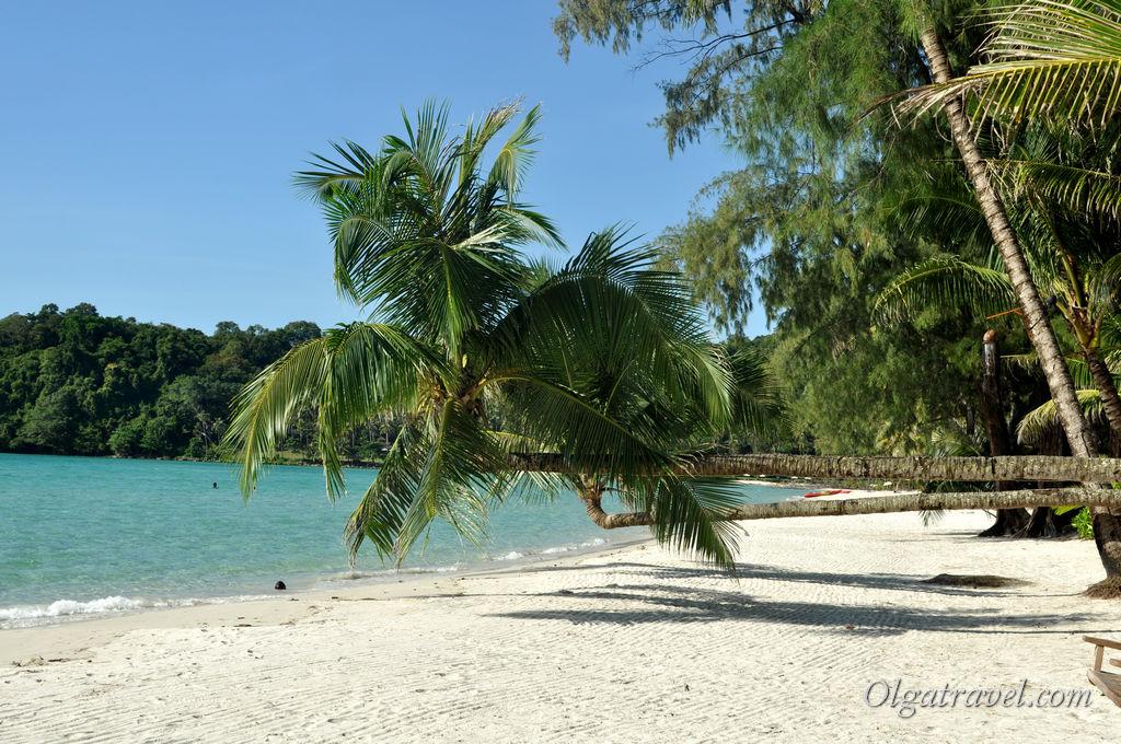 Пляж возле отеля Питер Пен. Мы туда ездили и на байке и плавали на каяке от Дуситы. Некоторые ходят пешком :)