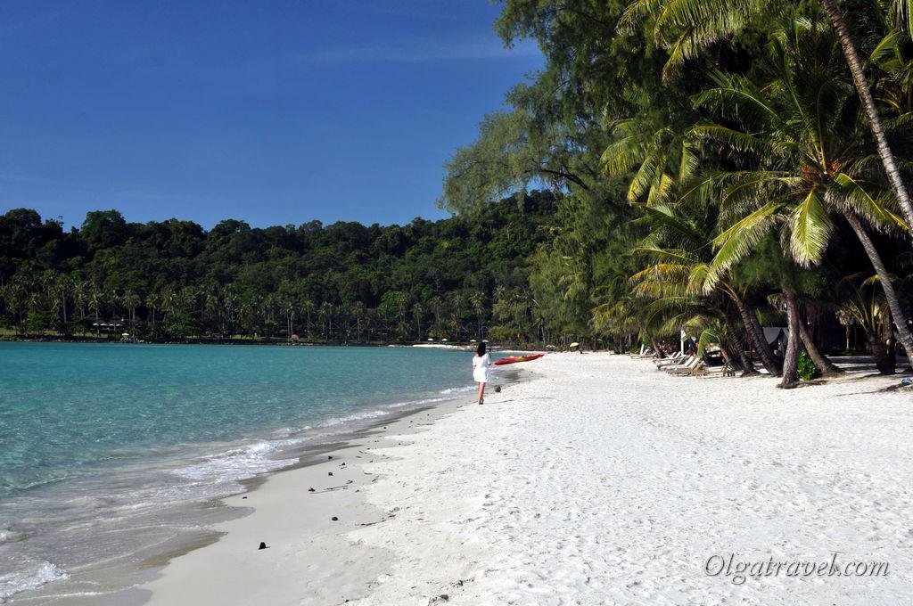 Самый красивый пляж на Ко Куде - пляж возле отеля Питер Пен