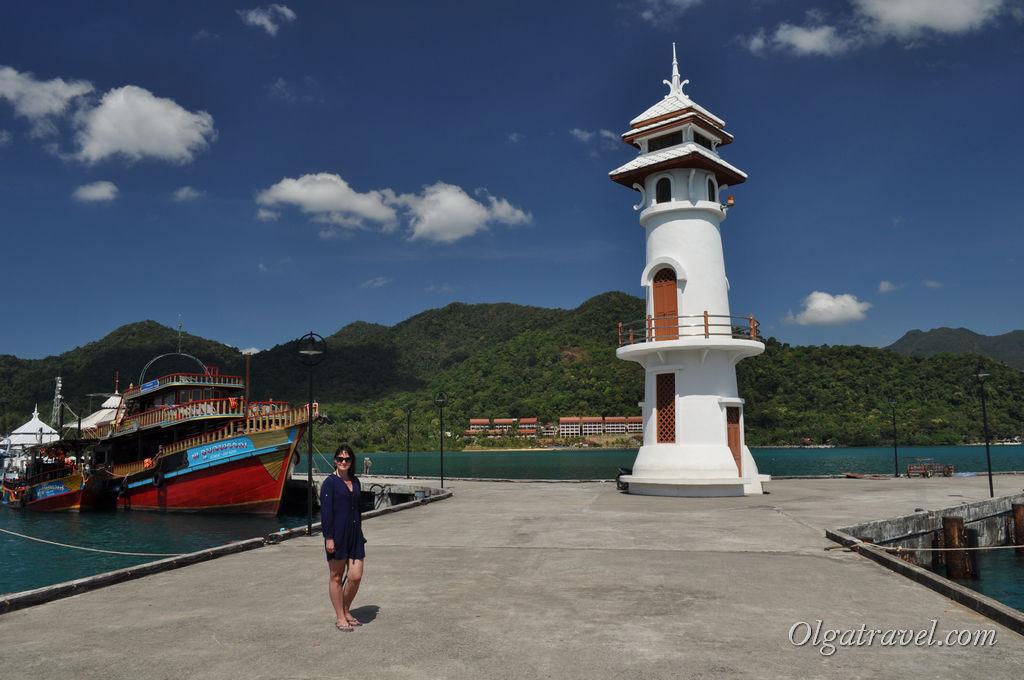 Главная достопримечательность Банг Бао - маяк!