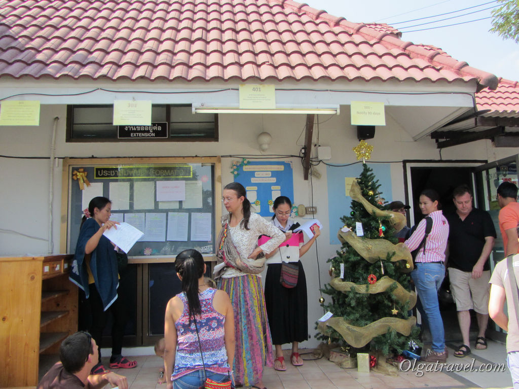 продление визы в Чианг Мае
