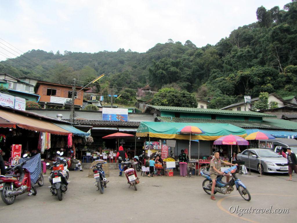 Деревня племени Хмонг