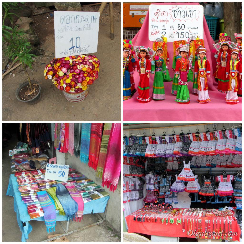 И разнообразные сувениры. Цены низкие