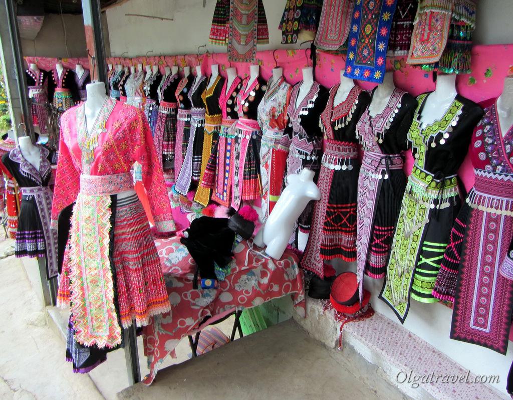 Национальная одежда племени Хмонг