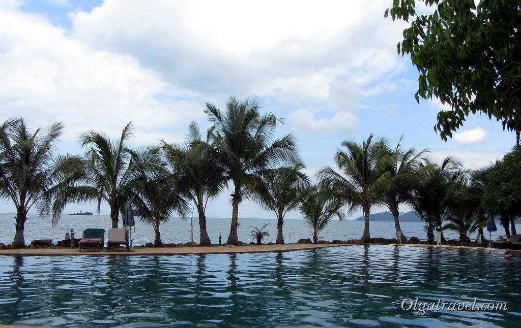 Панорамный бассейн отеля Корал Ресорт