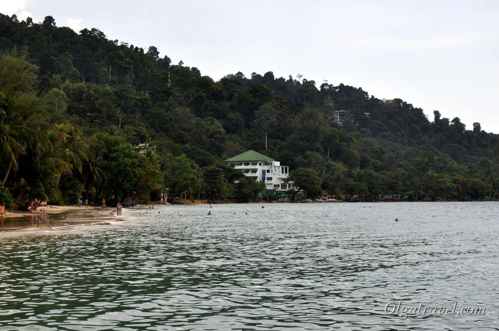 Южная часть пляжа Кай Бей
