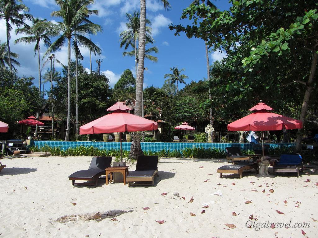 Chivapuri Beach Resort - отличный отель с бассейном на самом красивом пляже Ко Чанга