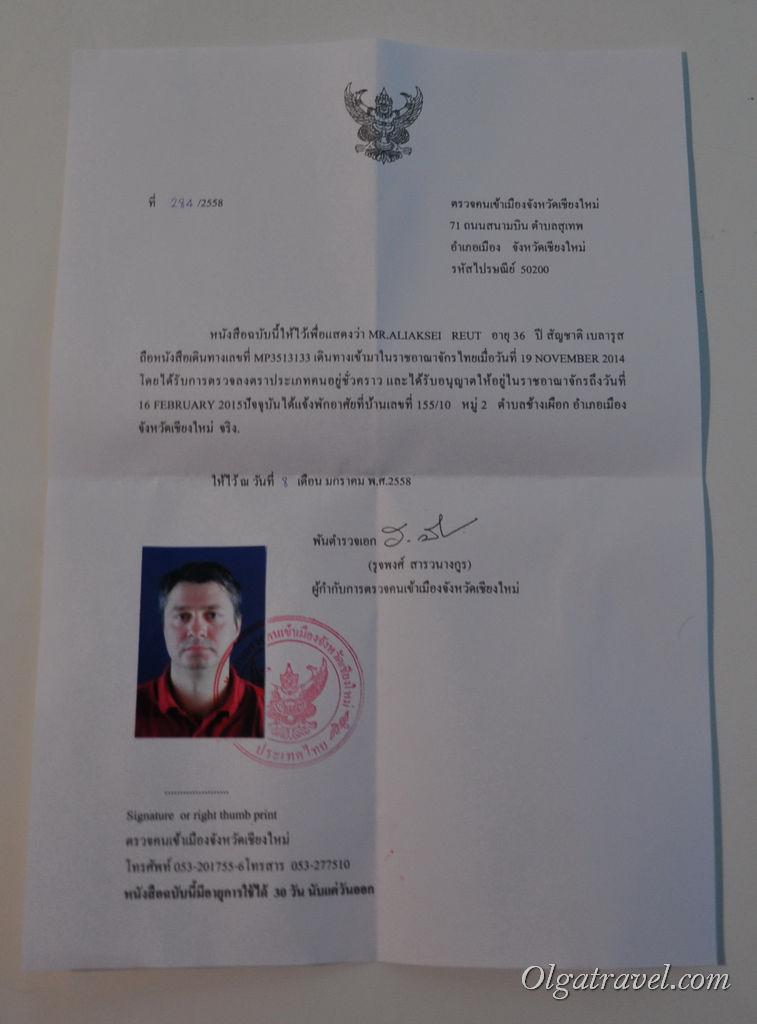 резидент сертификат