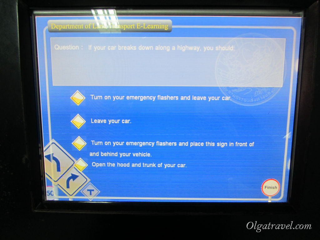 получение водительских прав в Таиланде