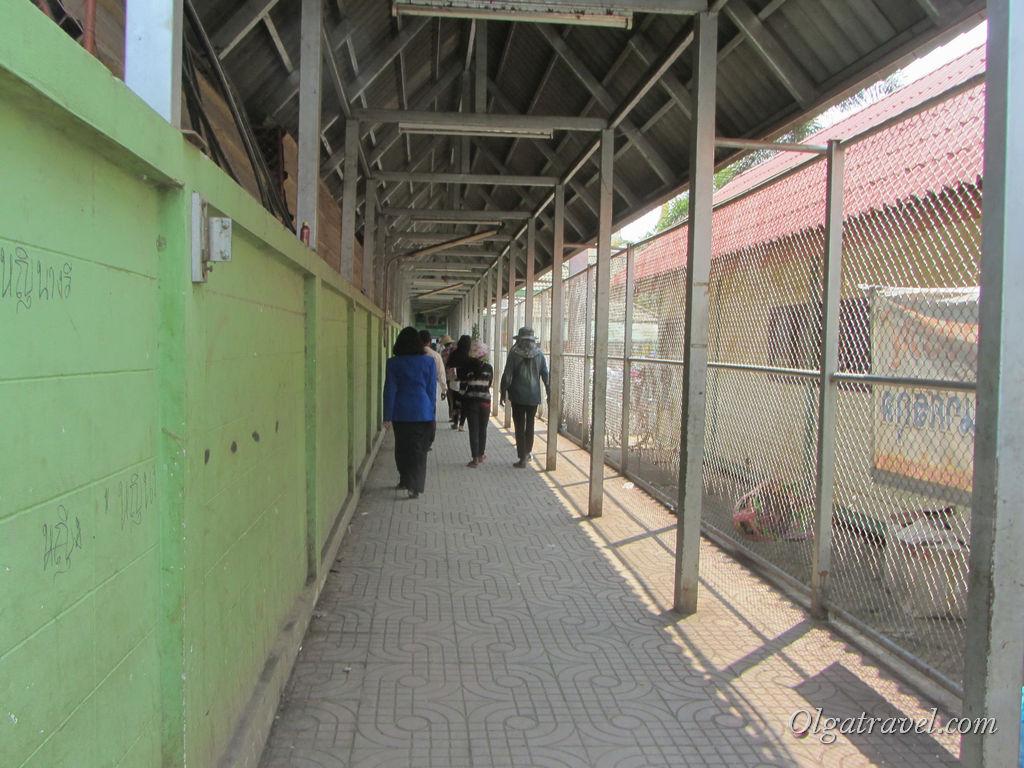 Границу Араньяпратет - Пойпет надо проходить пешком!
