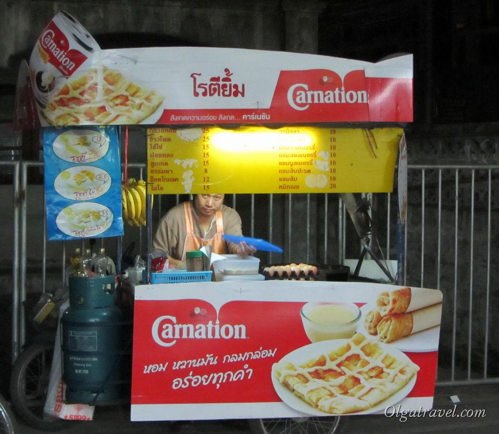 блинчики в Таиланде