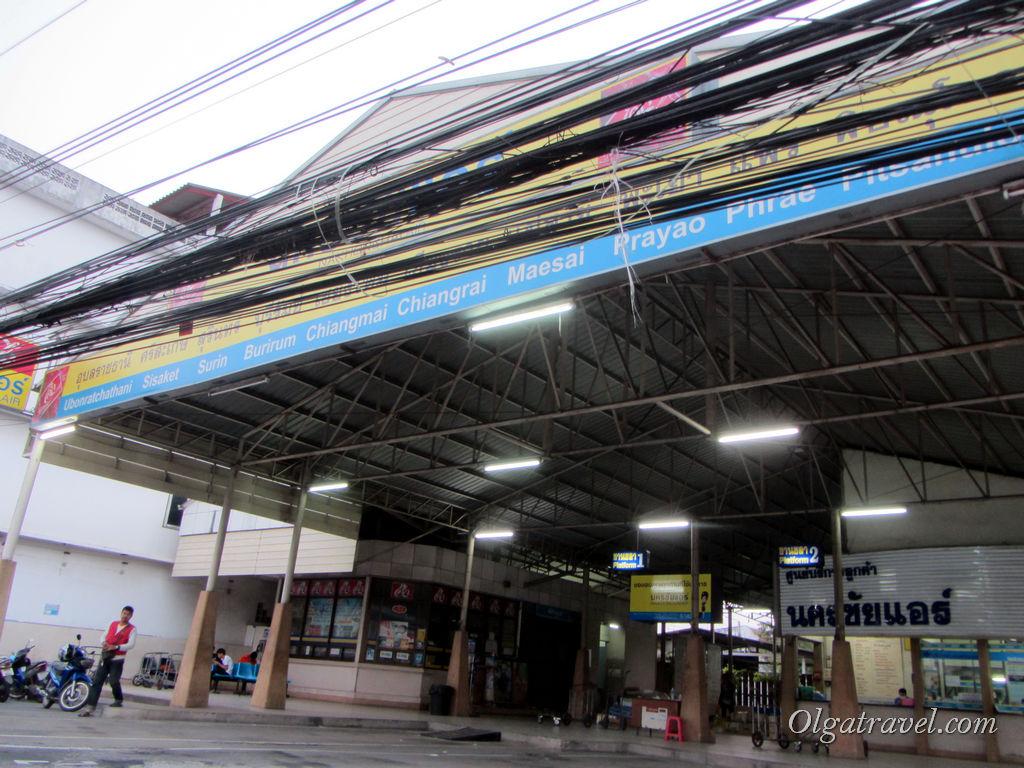 Автостанция Nakhon Chai Air в Паттайе