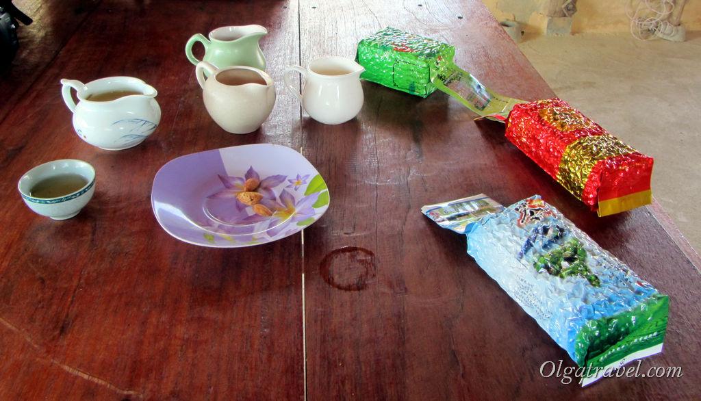 Дегустация и покупка чая в китайской деревне