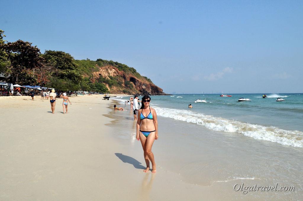 Пляж на острове Ко Лан