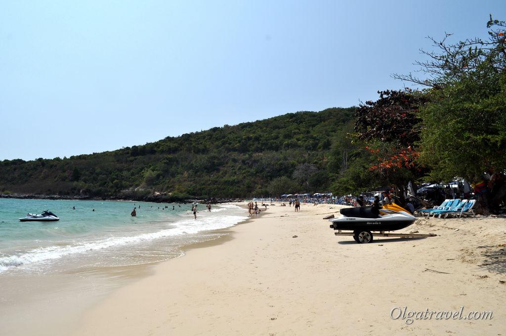 ко Лан пляжи