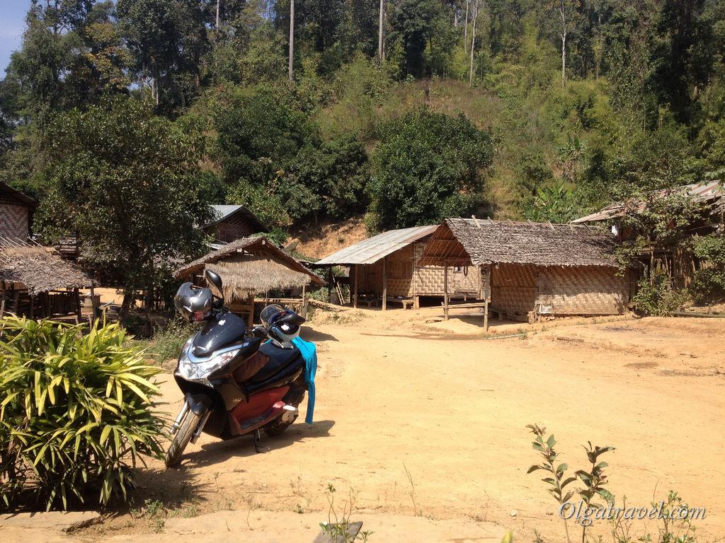 Где-то в горах севера Таиланда, на самой границе с Бирмой