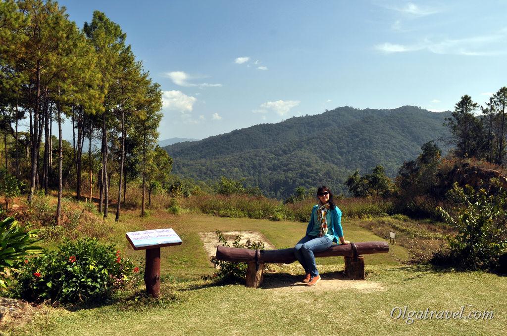 Одна из смотровых площадок на пути из Чианг Мая в Пай