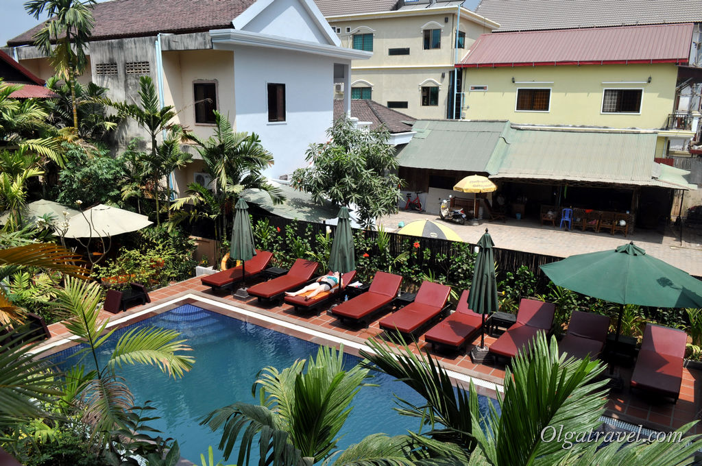 недорогой отель с бассейном Сием Рип