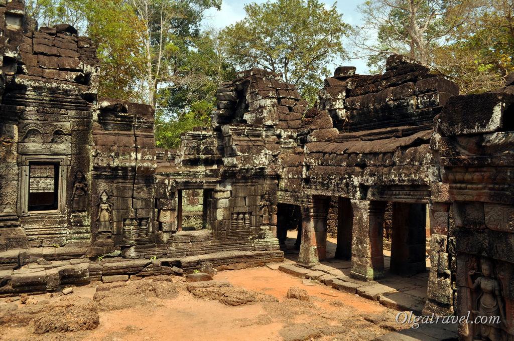 Один из храмов комплекса Анкор Ват