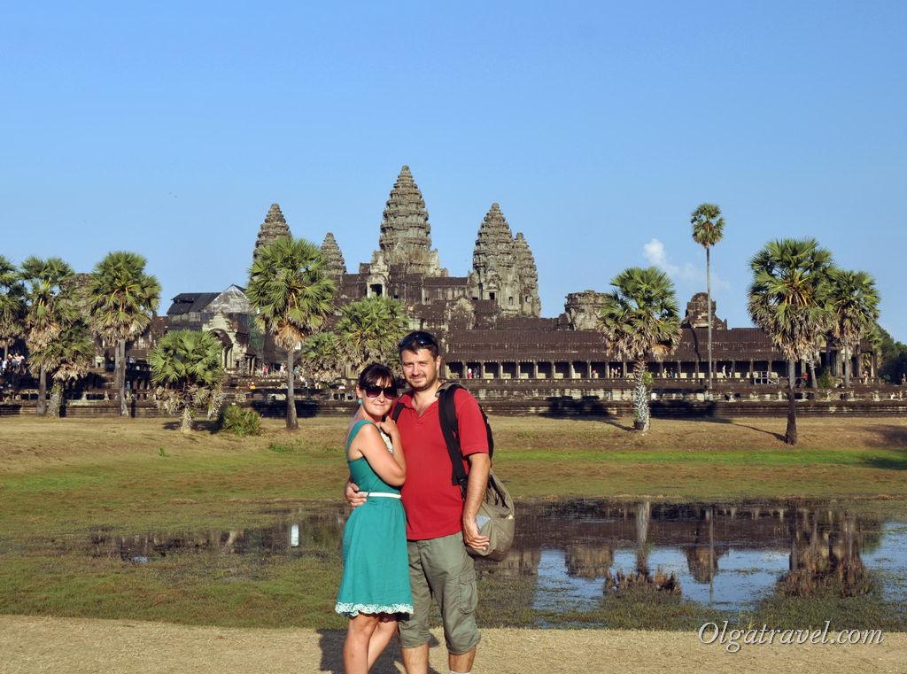 Знаменитый Анкор Ват, Сием Рип, Камбоджа