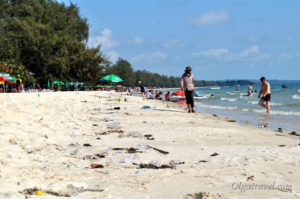 А пляжи могут быть такими...