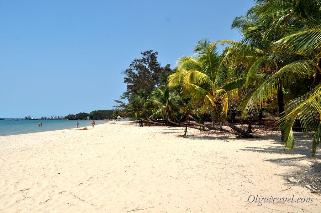 Пляж Виктория в Сиануквиле