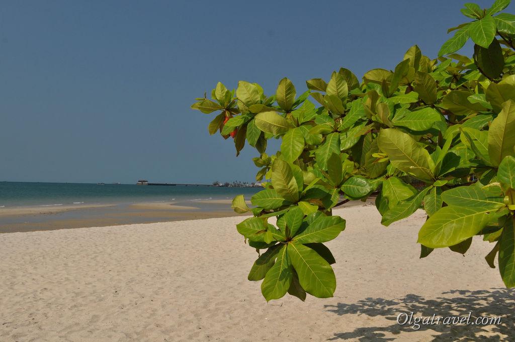 Сиануквиль пляж