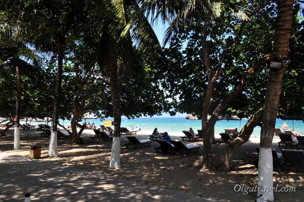 пляж Дрим бич Нячанг