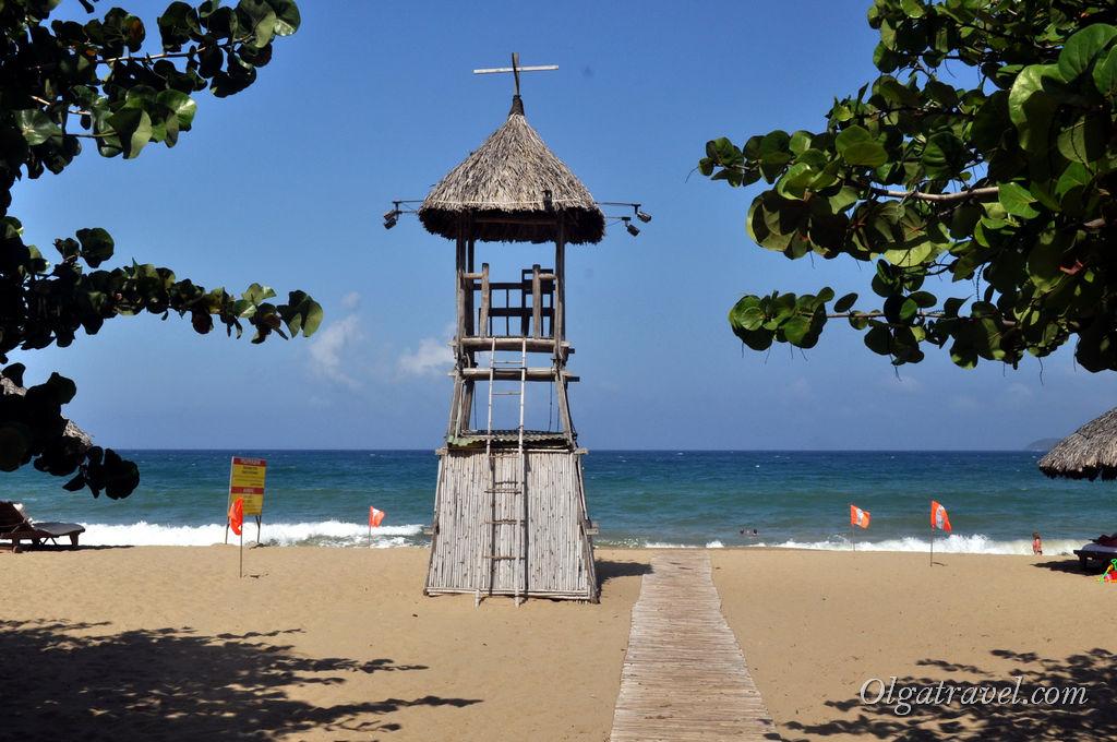 Городской пляж Нячанга