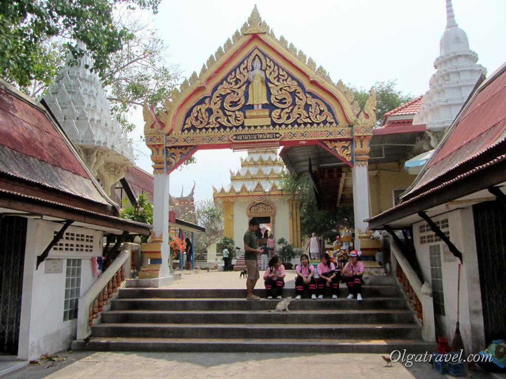 Буддийский храм Wat Khao Phra Bat