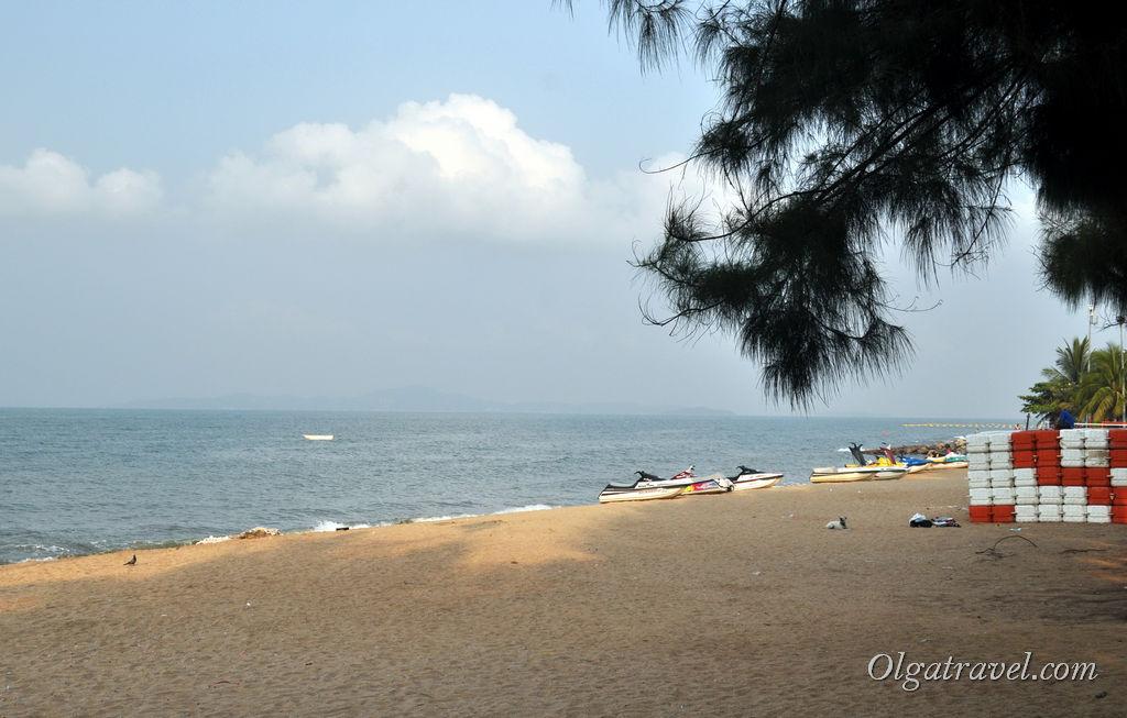 Пляж возле Паттайя Парк