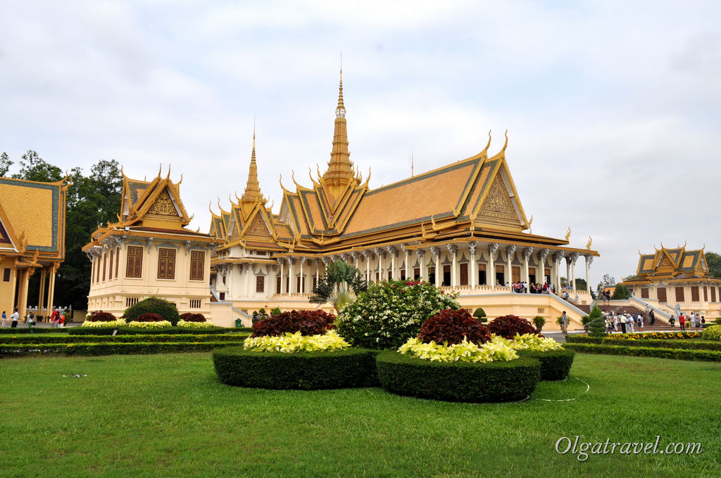 Королевский дворец Пном пень