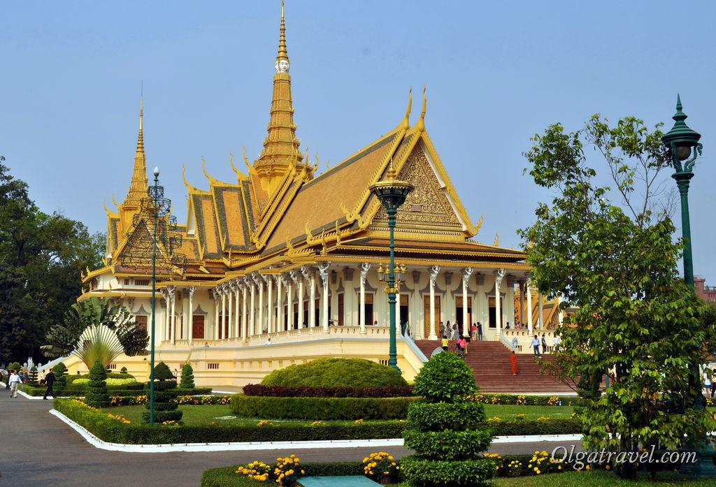 Королевский дворец Камбоджа