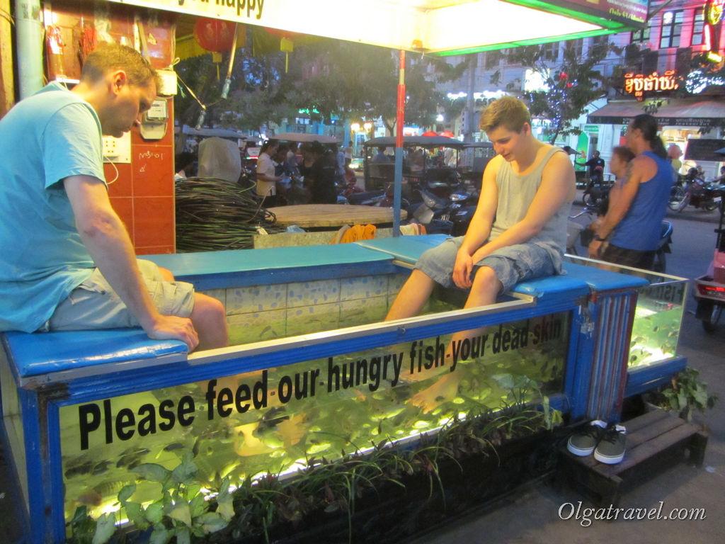 Веселый пилинг рыбками