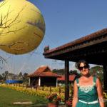 Воздушный шар над Ангкором