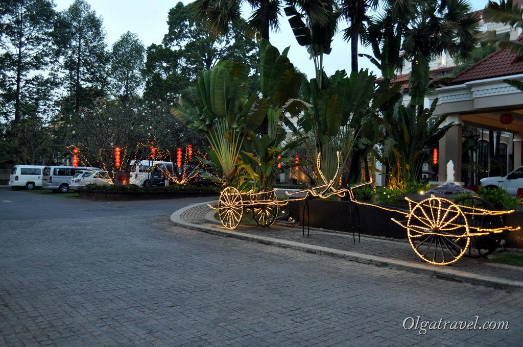 Один из пятизвездочных отелей в Сием Рипе