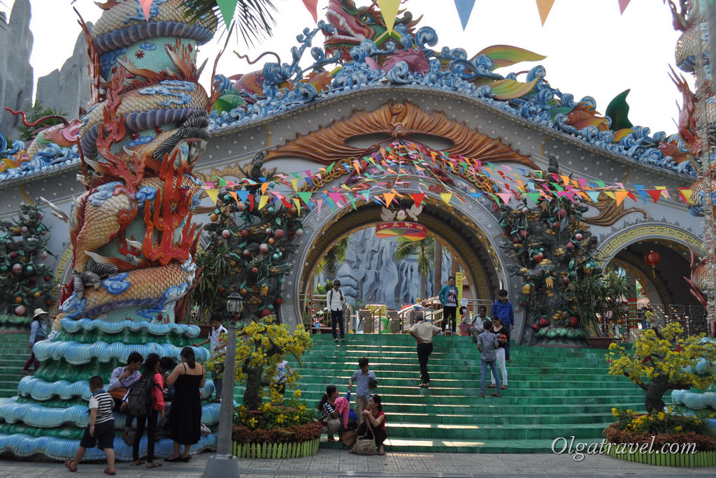 аквапарк Suoi Tien