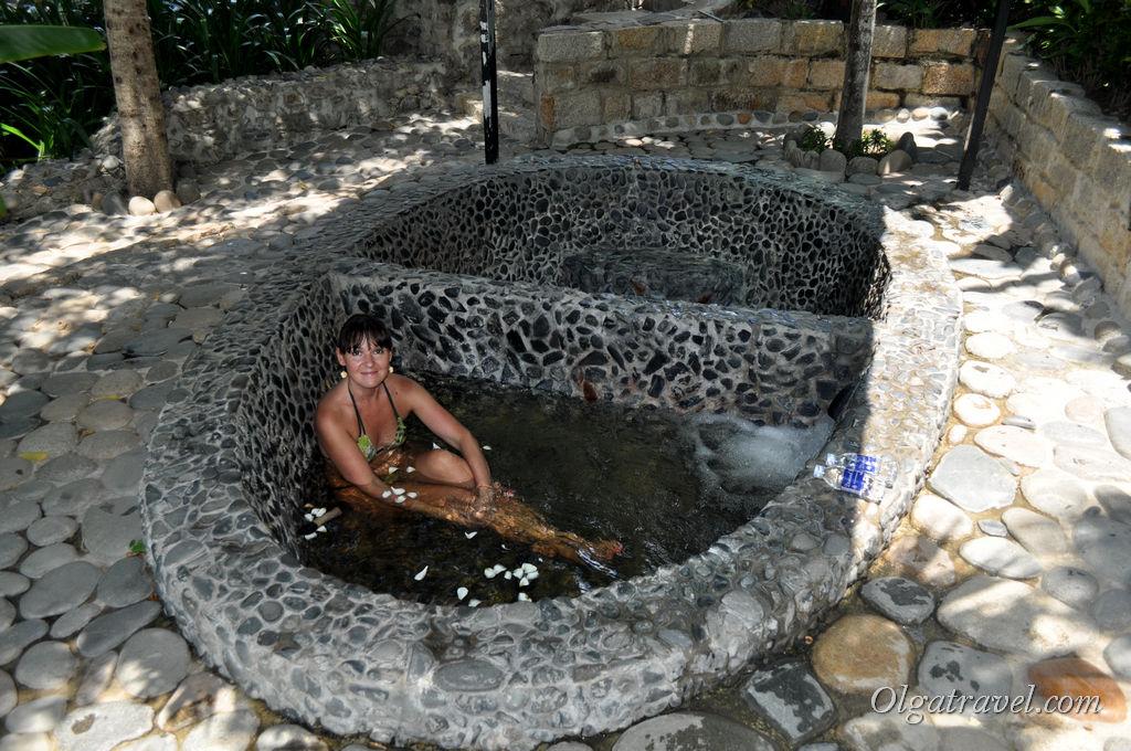 Минеральная травяная ванна