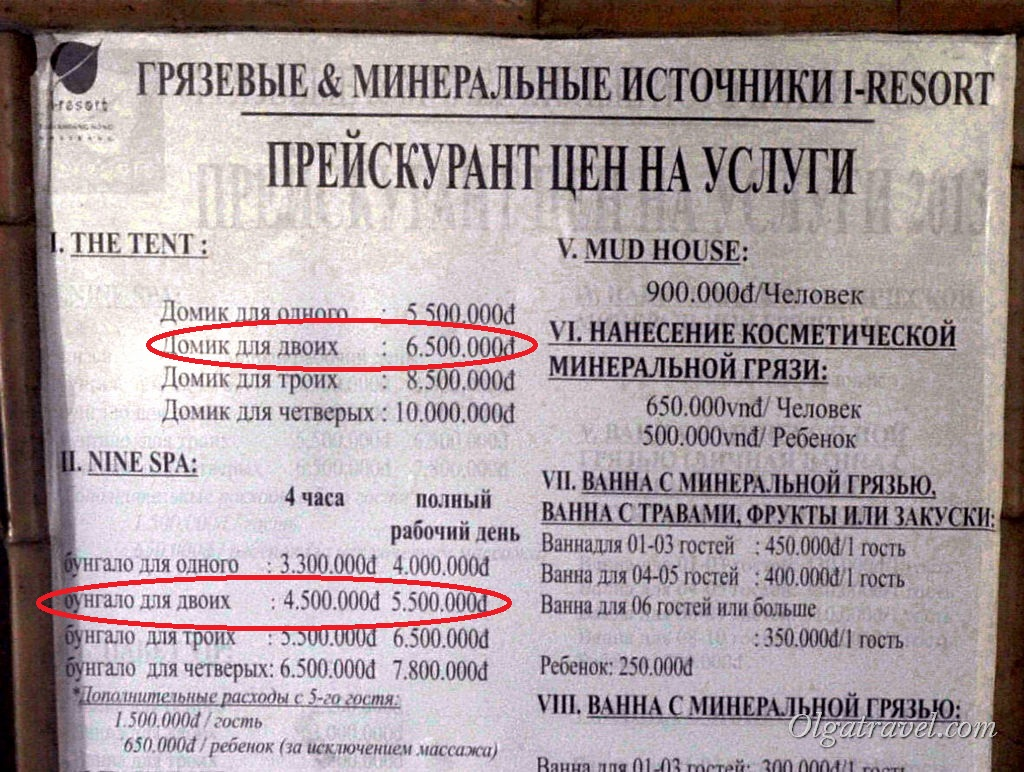 I Resort цены