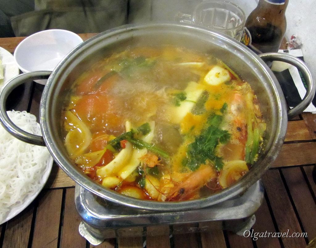 Вьетнамское блюдо - Хот Пот