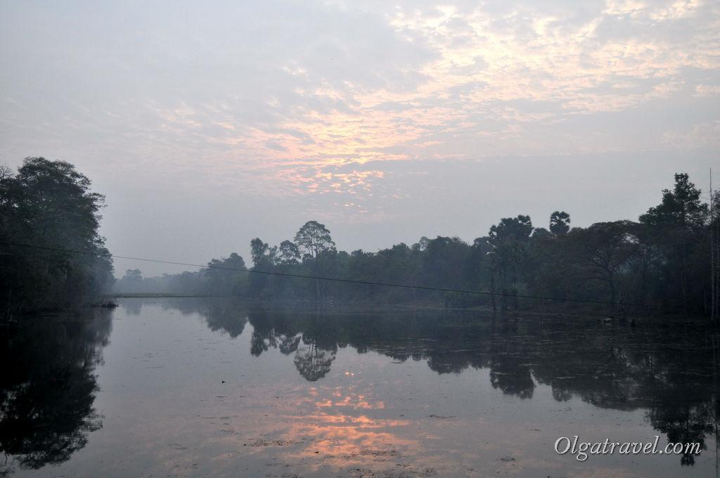 Ангкор рассвет