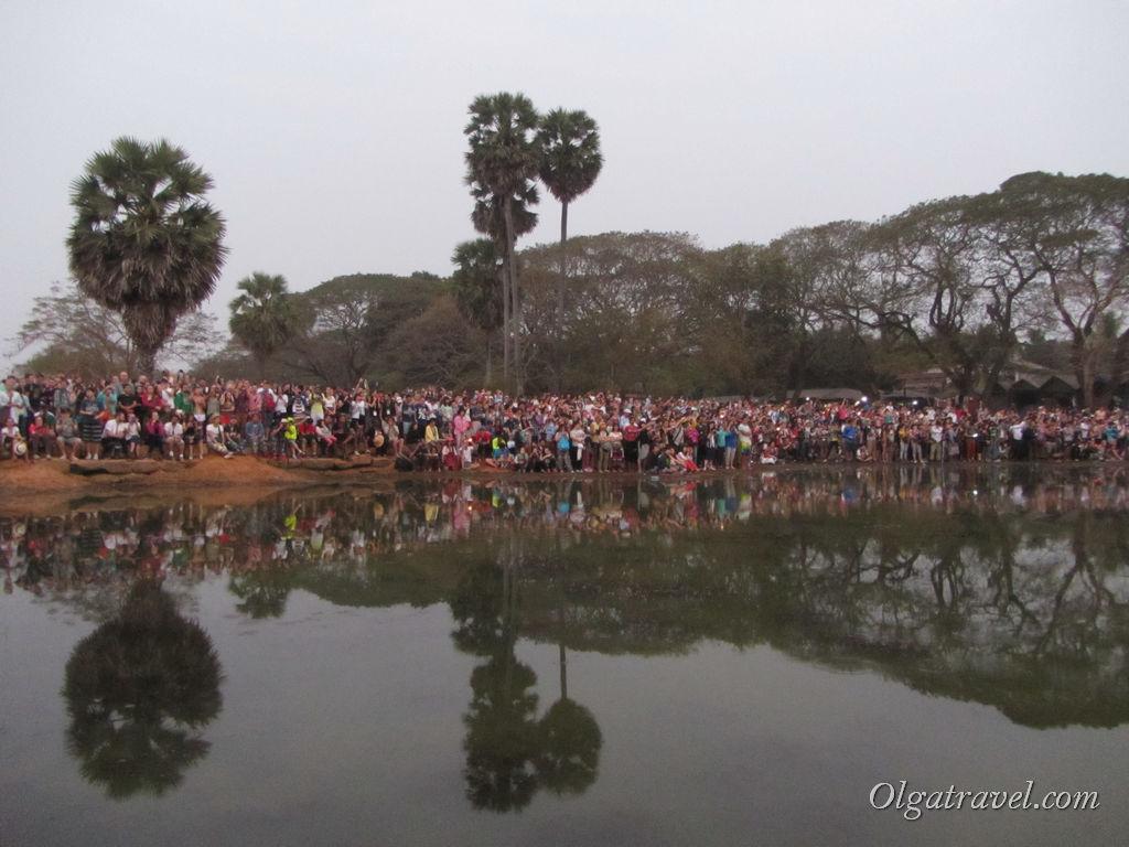 рассвет Ангкор Ват