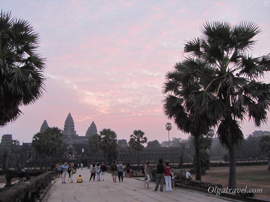 рассвет Ангкор