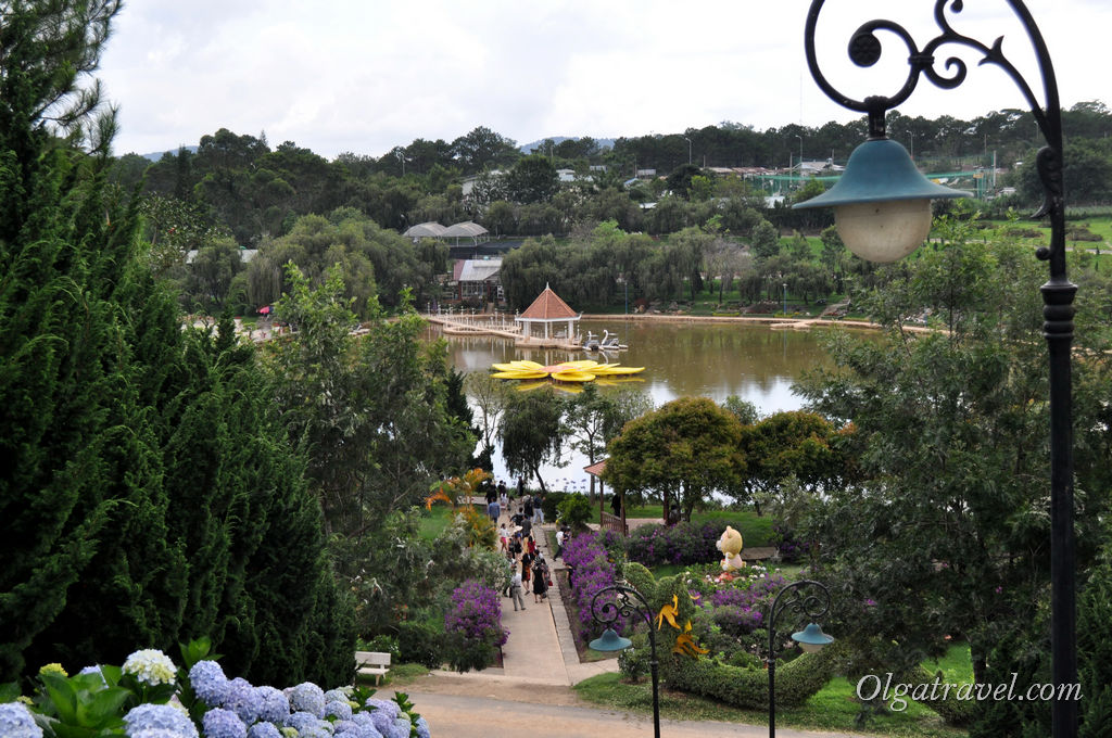 Далат парк цветов