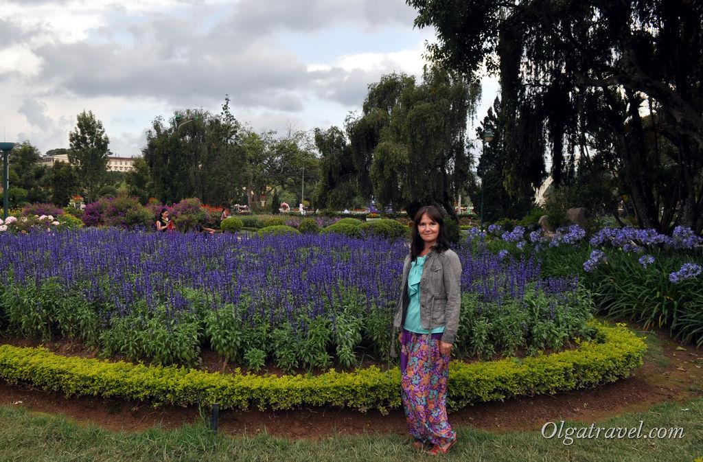 парк цветов в Далате