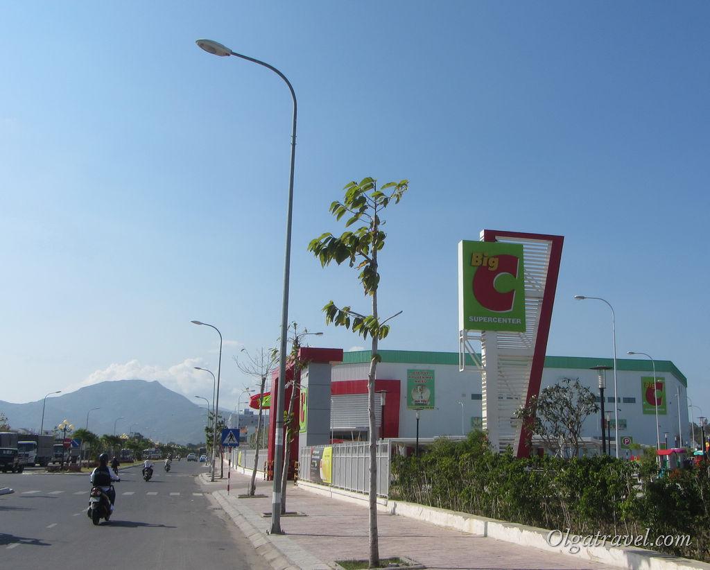 Магазин Биг С в Нячанге